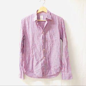 GAP Small striped button down shirt
